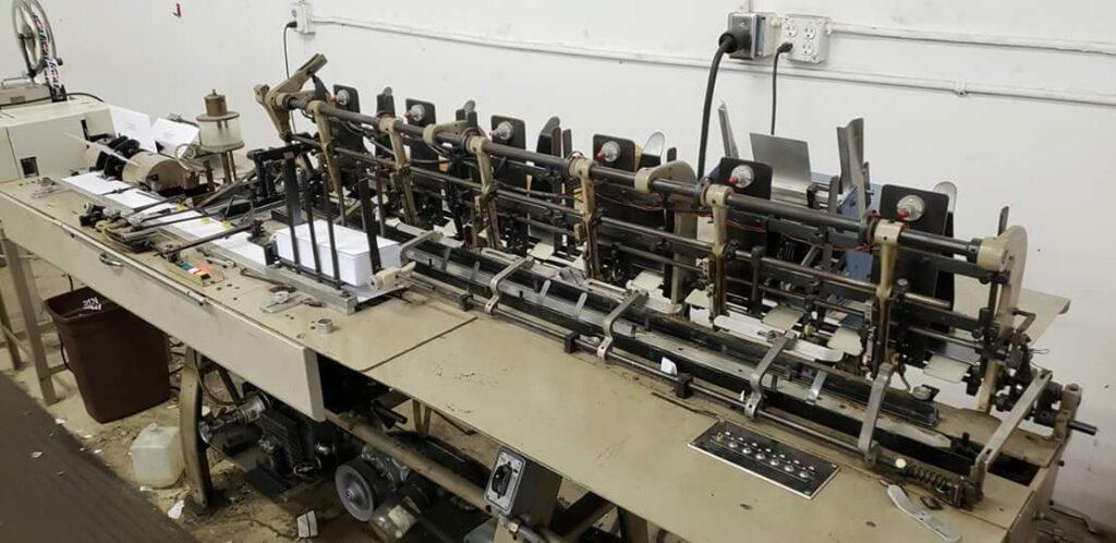 inserting machine